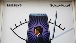 EE.UU. pide a los usuarios que eviten el Galaxy Note 7 ante los riesgos de la batería