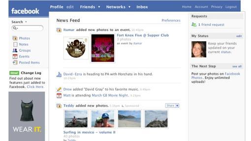 Facebook:  Facebook: así ha cambiado News Feed en toda su historia