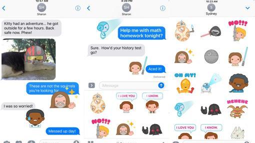 Las mejores «apps» para mandar «stickers» en iOS 10