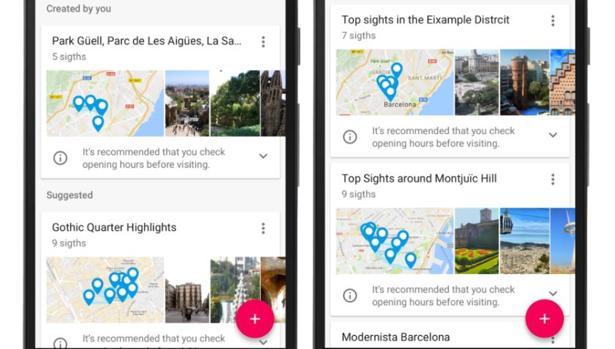 Google Trips llega a iOS y Android para revolucionar tus viajes
