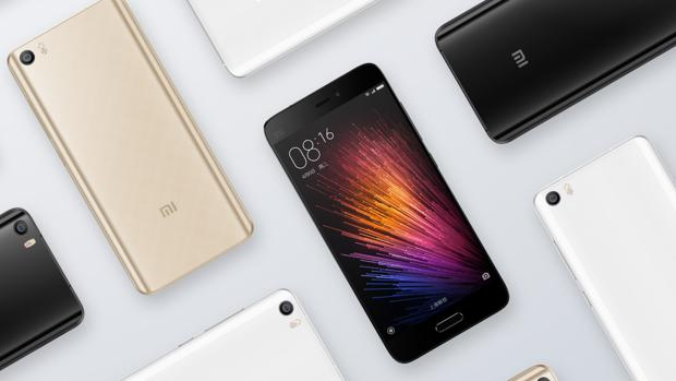 Detalle del modelo Xiaomi M5