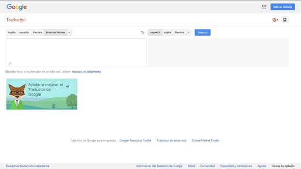 El traductor de Google ha dejado sonoros gazapos