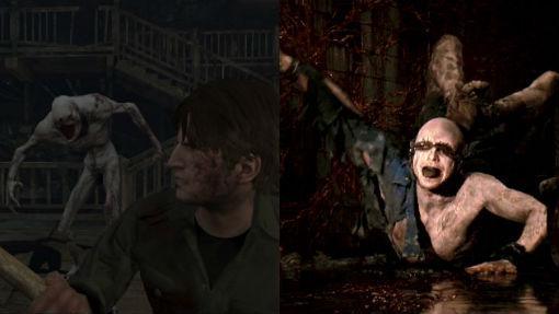 «Silent Hill 3» y un fotograma de la película