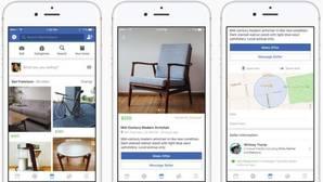 Marketplace, el servicio de Facebook para competir por el mercado de segunda mano con eBay y Wallapop