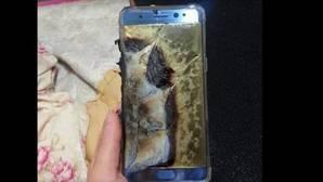 Samsung Galaxy Note7 vídeo ardiendo