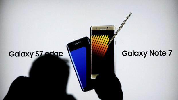 Detalle del Galaxy Note 7