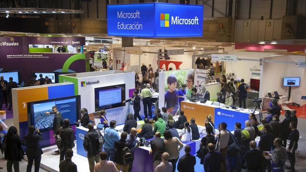 Stand de Microsoft en SIMO 2016