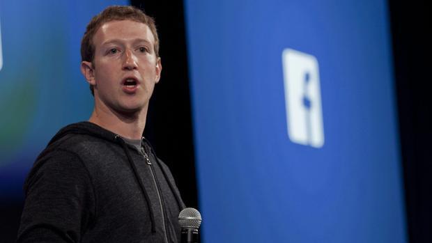 Mark Zuckerberg, fundador de Facebook, durante una internvención