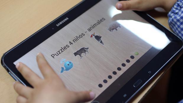 Las tabletas se utilizan mucho en el sector educativo