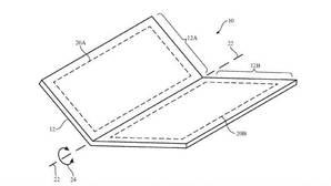 Un iPhone plegable: la nueva patente de Apple