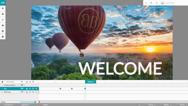Interfaz de RacontR