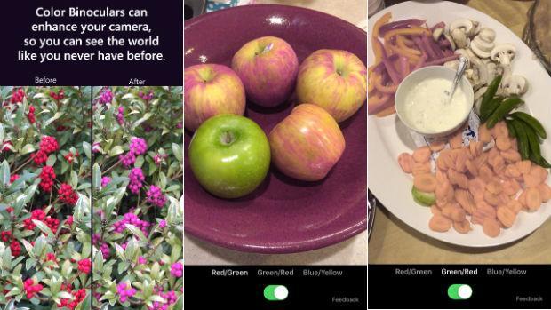La «app» de Microsoft para que los daltónicos puedan ver colores tal y como son