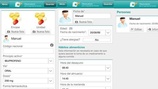Aplicaciones para la salud