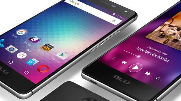 Detalle del BLU R1 HD, uno de los modelos afectados