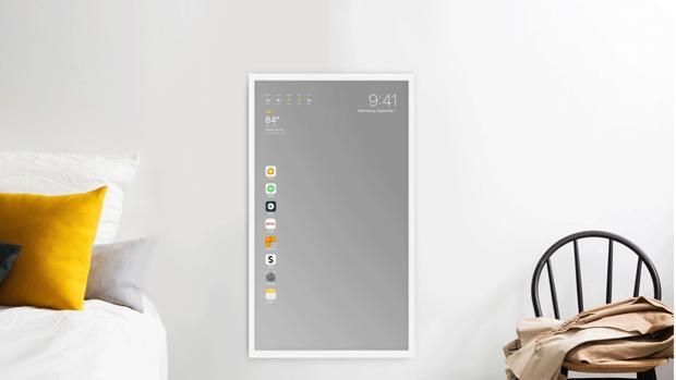 Así podría lucir el próximo espejo inteligente de Apple
