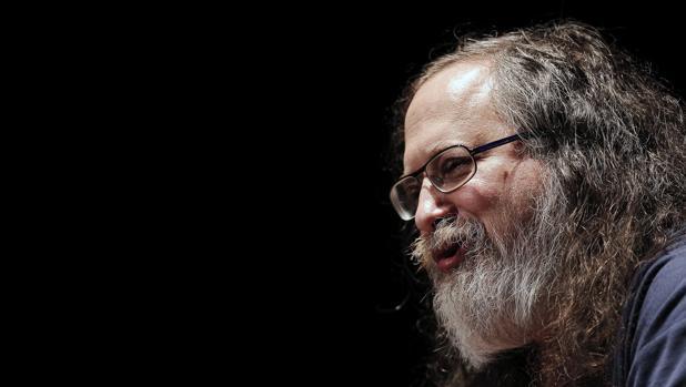El fundador del movimiento de software libre, Richard Stallman