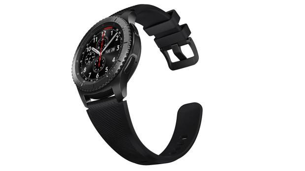 Detalle del nuevo reloj inteligente de la firma surcoreana