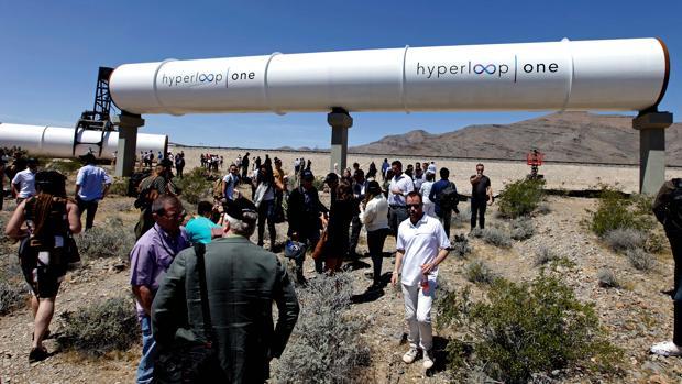 Imagen de Hyperloop en Las Vegas, Nevada