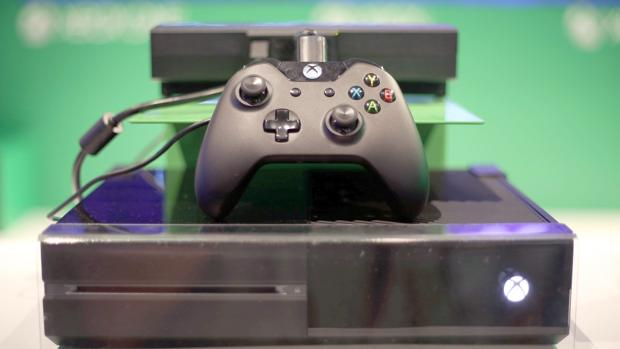 Detalle del primer modelo de Xbox One, presentado en 2013