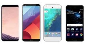 Galaxy S8 frente a otros rivales Android