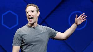 Mark Zuckerberg durante la F8