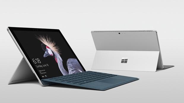 Detalle del nuevo modelo de tableta-ordenador de la firma americana