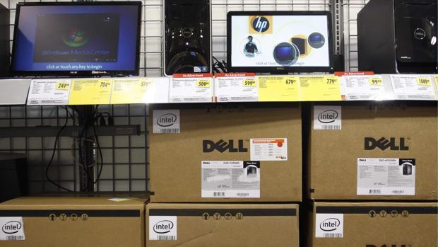 Foto de archivo: tienda de productos tecnológicos