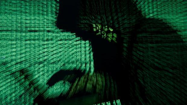 Foto de archivo de hacker