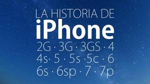 Vea en el vídeo la evolución de los iPhone, desde el original al 7 plus