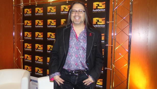 El diseñador de videojuegos John ROmero
