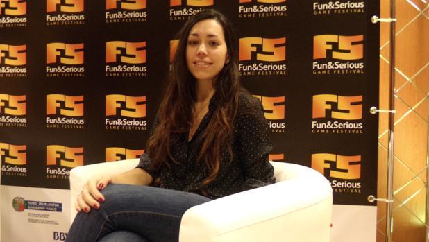 La programadora de videojuegos y cofundadora de Women in Games Gisela Vaquero
