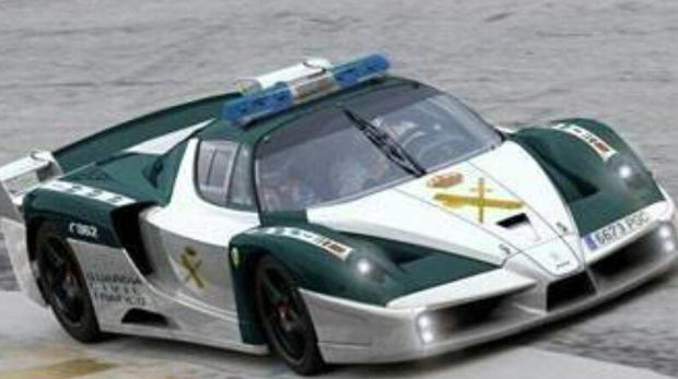 Los nuevos deportivos de la Guardia Civil