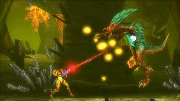 Captura de «Metroid Samus Returns»