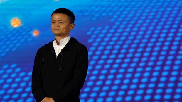 JacK Ma, fundador de Alibaba, durante una intervención
