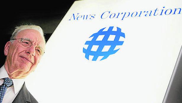 Rupert Murdoch, presidente de News Corp. en una imagen de archivo