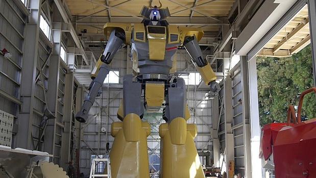 El robot gigante «LW-Mononofu»