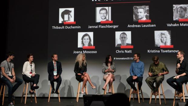 Entrega de premios de «Innovators Under 35 Europe» en 2017