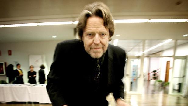 Jon Perry Barlow, durante una visita a España en 2007
