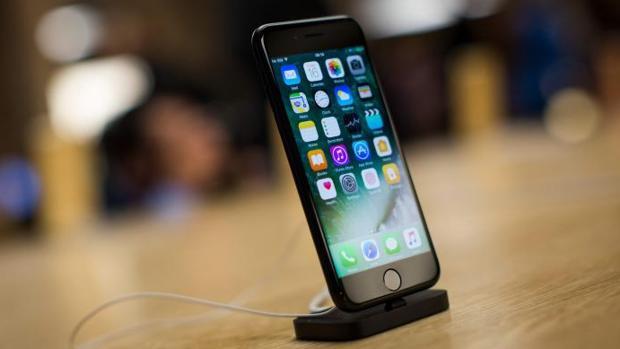 Imagen de archivo de un iPhone 7