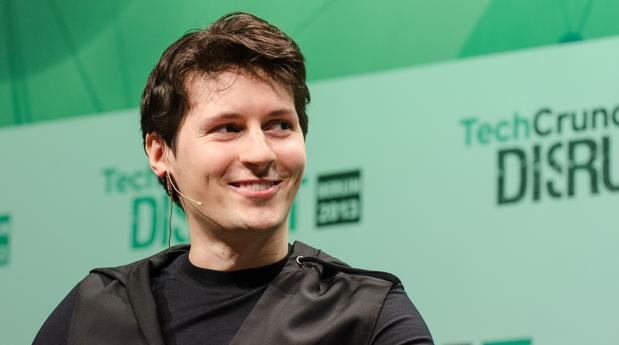 Pavel Durov, empresario, durante una charla
