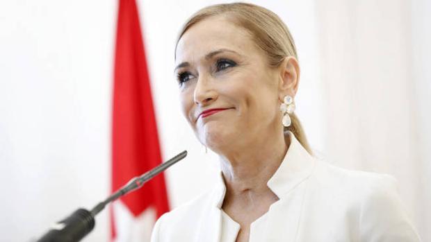 Cristina Cifuentes, expresidenta de la Comunidad de Madrid