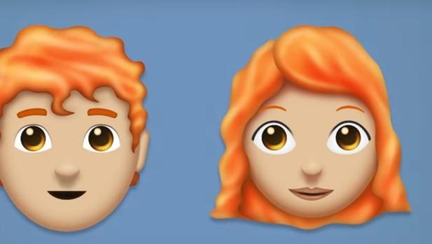 Una demanda histórica se hace realidad: llegan los «emojis» pelirrojos