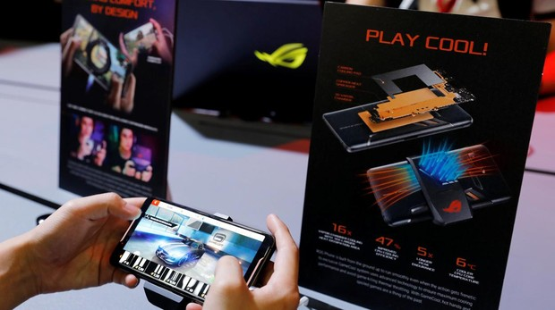 El ASUS ROG (Republic of Gamers), presentado en Computex
