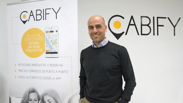 Manager general de Cabify, Mariano Silveira.