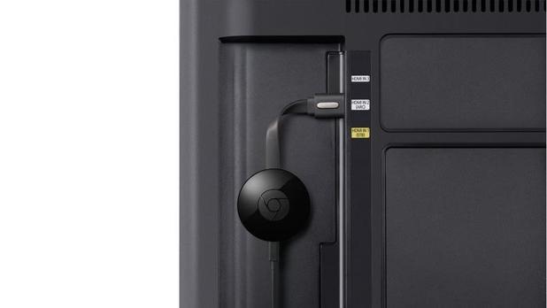Detalle del Chromecast