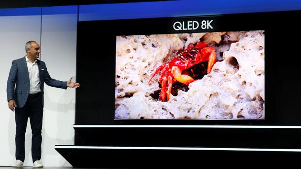 Samsung presenta un televisor QLED con 8K de resolución