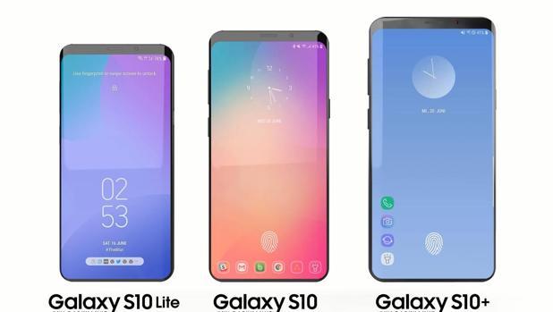 Diseño conceptual de cómo podría ser el próximo Galaxy S10