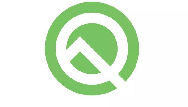 Detalle del logo de Android Q