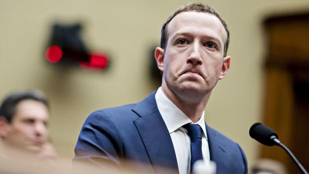 Mark Zuckerberg, fundador de Facebook, durante una intervención pública