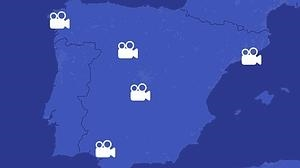 Escenarios de película en España